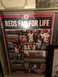 Pete Rose, Johnny Bench , Red's Championship Poster from the 70's