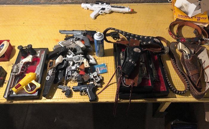 Lots more cap guns