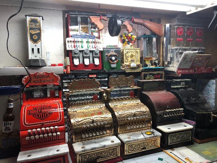 Refurbished Vintage Cash Registers
