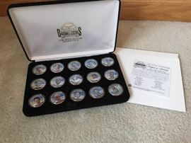 Baseball Legends JFK Half Dollar Collection