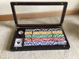 Beautiful Poker Chip Set