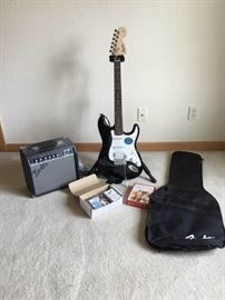 Fender Guitar and Amplifier Lot