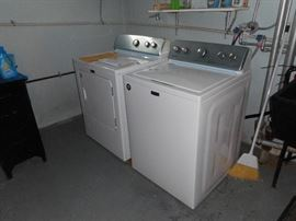Under warranty  for four more years. Purchased  in 12/2017.  Gas Dryer and Washing machines. All paperwork included. Whirlpool.