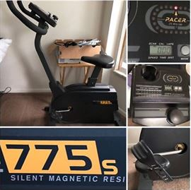 Pro-Form 775s exercise cycle — Really Quiet!; $99