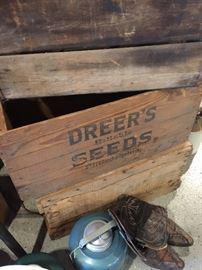 DREER'S SEED BOX