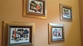 4 Mid Century Pictures