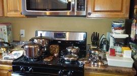 Pots Pans, kitchen items