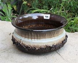 Lava ceramics bowl.