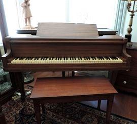 Baby Grand Piano 1930's