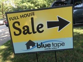 Full House SaleSign