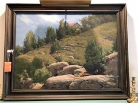 Clifton Wheeler Painting