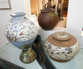 Mid-Century Signed Art Pottery