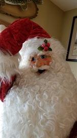 Lifesize Santa Face