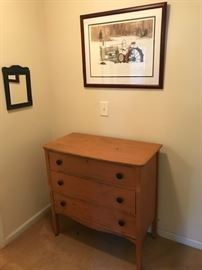 More furniture and hand signed artwork
