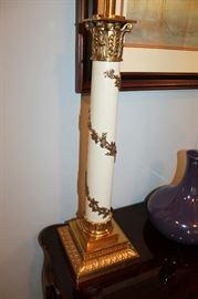 vintage Stiffel lamps (original shades included)
