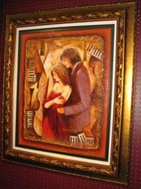 Charles Lee acrylic on canvas