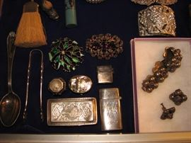 Vintage jewelry, sterling