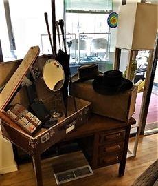 Antique Oak Childs Desk