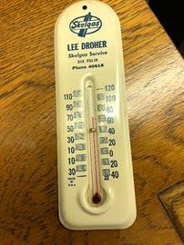 Vintage Skelgas Thermometer, St. Joseph