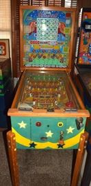 1955 Bally Broadway bingo pinball machine