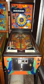 1970 Williams JIVE TIME flipper pinball machine
