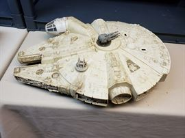Ahhh, the Millennium Falcon.  Vintage, could use some TLC.