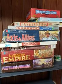 Vintage strategy games.