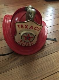 Texaco Fire Chief Toy  Hat