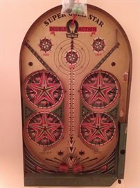 Amazing pinball machine with all its parts! Super gold star double action by Lindstrom