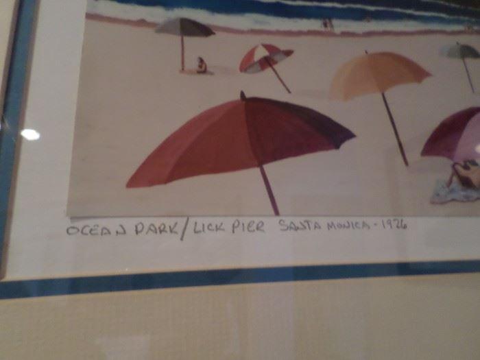"""Ocean Park"" Lick Pier Santa Monica"