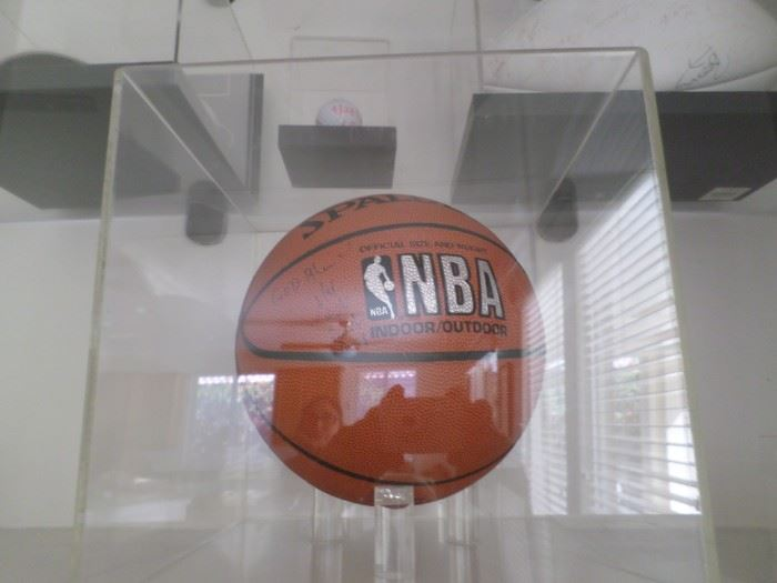 NBA Basketball signed by