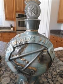 World's Fair  New York 1962-1964  Jim Beam Bottle