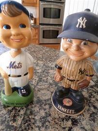 Mets & Yankees Bobbleheads