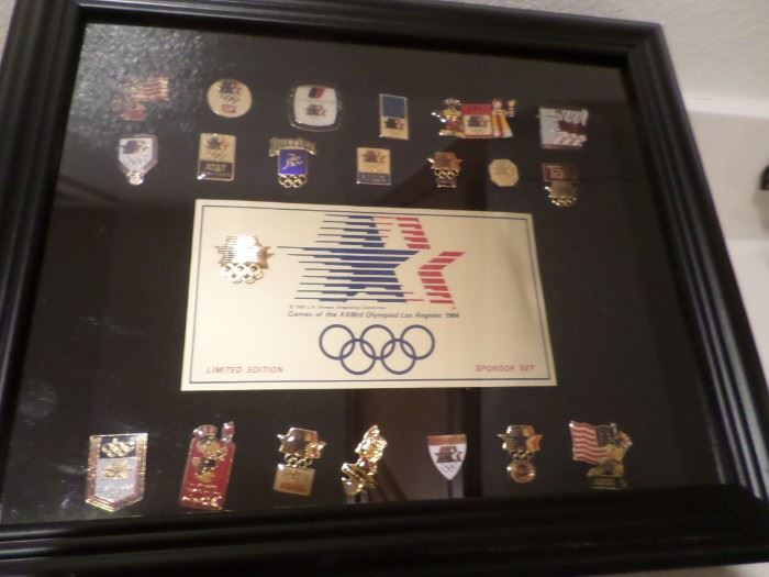 Olympic Business Pin Set
