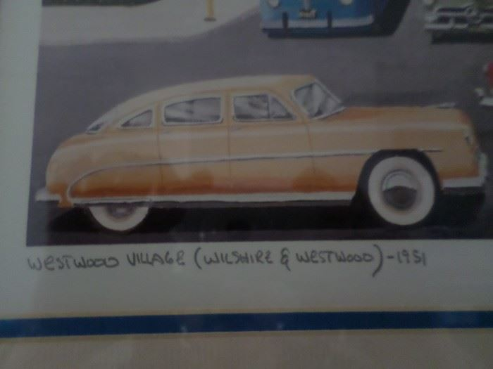 Westwood Village 1951  Wilshire & Westwood