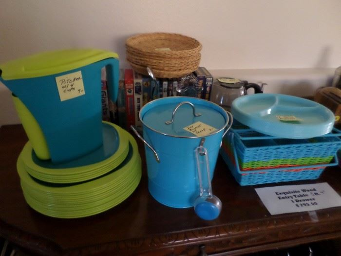 Lime/Turquoise Outdoor Set