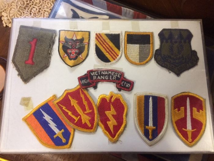 Vietnamese military patches