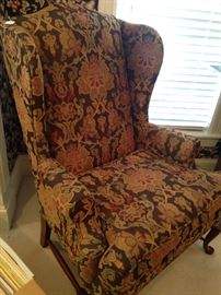 Good-looking wing back chair