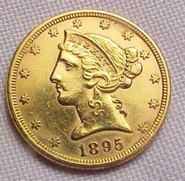 1895 $5 Gold1