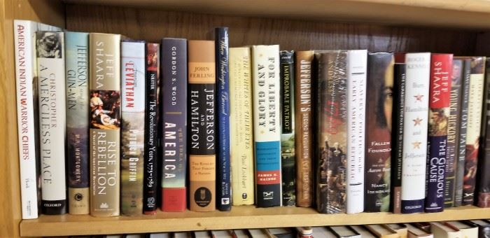 EARLY AMERICAN HISTORY  - PART OF THE 800 PLUS NEW BOOKS ON U.S. HISTORY