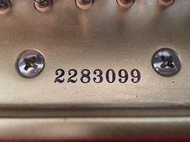 Kawai RX3 Serial Number: 2283099