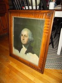 George in a fabulous antique frame