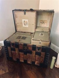 1800's Franklin Williams Steamer Trunk. $1,000