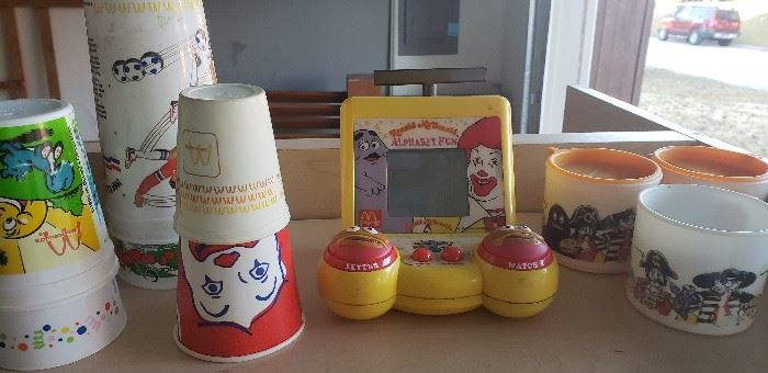 mcdonalds cups collectible
