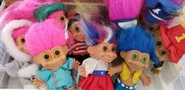 russ troll dolls collectible vintage