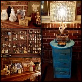 Vintage Pharmacy, Miniatures, Bottles, Collectibles, Lighting & More