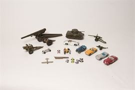 Dinky Toys and other Cast Iron Vintage Toys