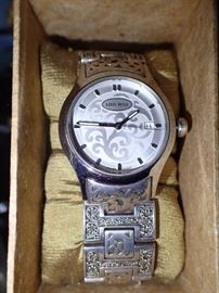 LOIS HILL STERLING WATCH