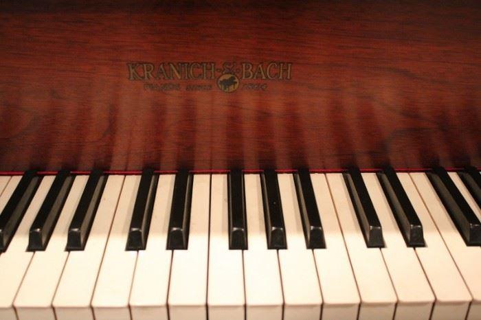 Beautiful Antique Baby Grand Piano
