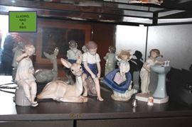 Lladro Figurines, NAO & B&G